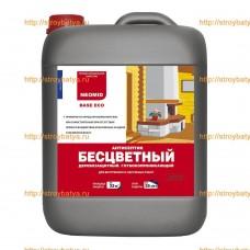NEOMID Base Eco – готовый раствор – бесцветный антисептик для наружных и внутренних работ 10л