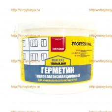 Герметик строительный «NEOMID ТЕПЛЫЙ ДОМ Mineral Professional» 15кг