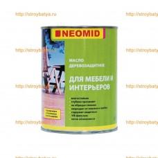 NEOMID Масло деревозащитное для мебели и интерьеров 0.75л