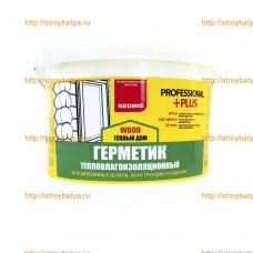 Герметик строительный «NEOMID ТЕПЛЫЙ ДОМ WOOD  Professional Plus»  310мл (картридж)