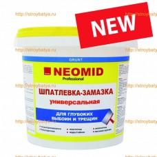 """""""Neomid шпатлевка-замазка универсальная"""" для заделки глубоких выбоин и трещин 5кг"""